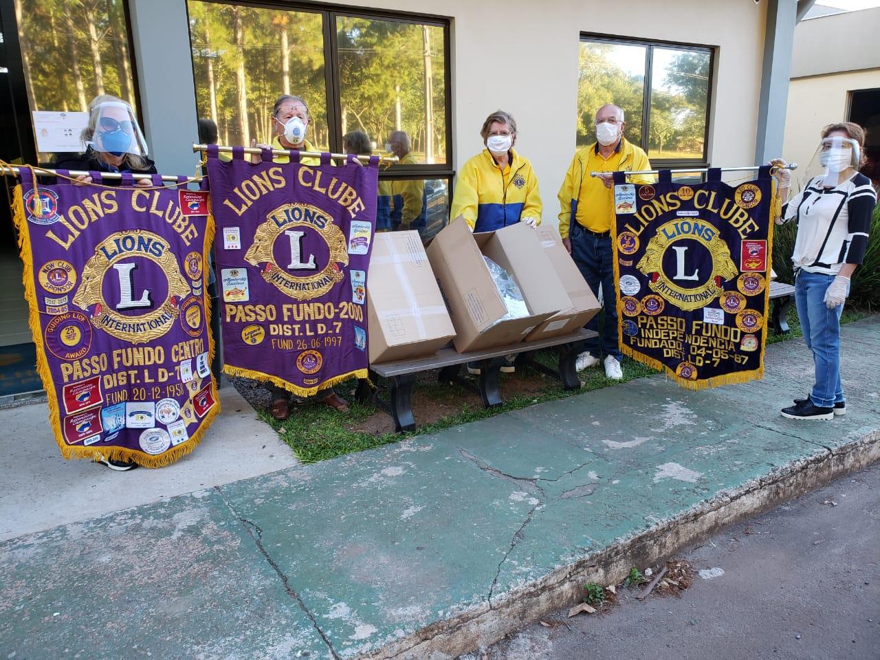 Hospital de Olhos Lions recebe doação de 50 protetores faciais para segurança dos profissionais