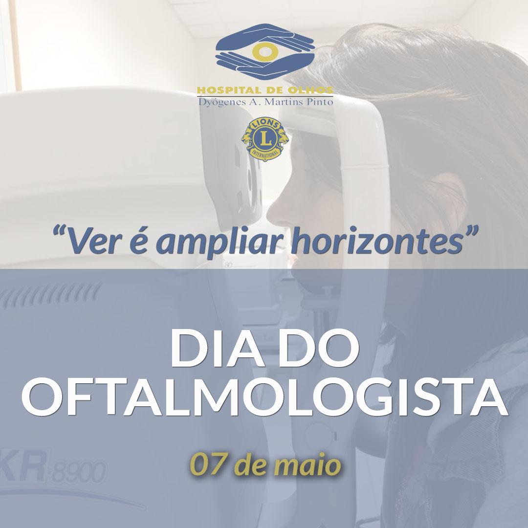 Oftalmologista: profissão responsável pela sua visão do mundo