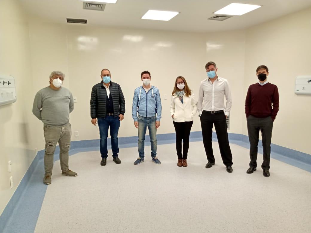 UFFS realiza visita técnica ao cenário de prática do Hospital de Olhos Lions