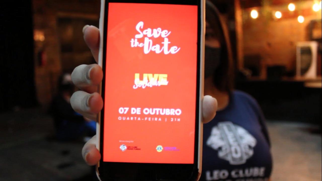 Live solidária reúne artistas em prol do Hospital de Olhos Lions na próxima semana