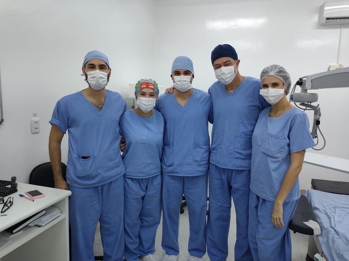 Com terceira turma, Hospital de Olhos Lions reforça excelência do Programa de Residência Médica em Oftalmologia