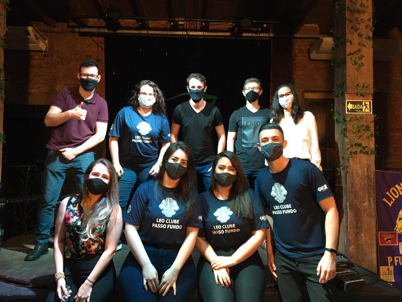 Live Solidária do LEO Clube Passo Fundo arrecadou R$ 1.905,00 para o Hospital de Olhos Lions